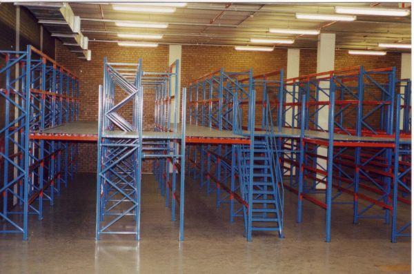 Mezzanine Floors   First Storage Concepts – Shelving